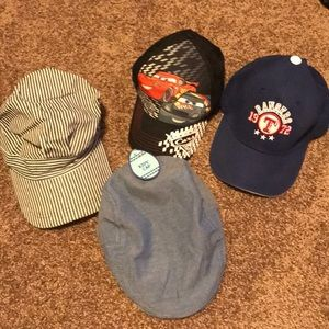 Other - Bundle of 4 boys hats.